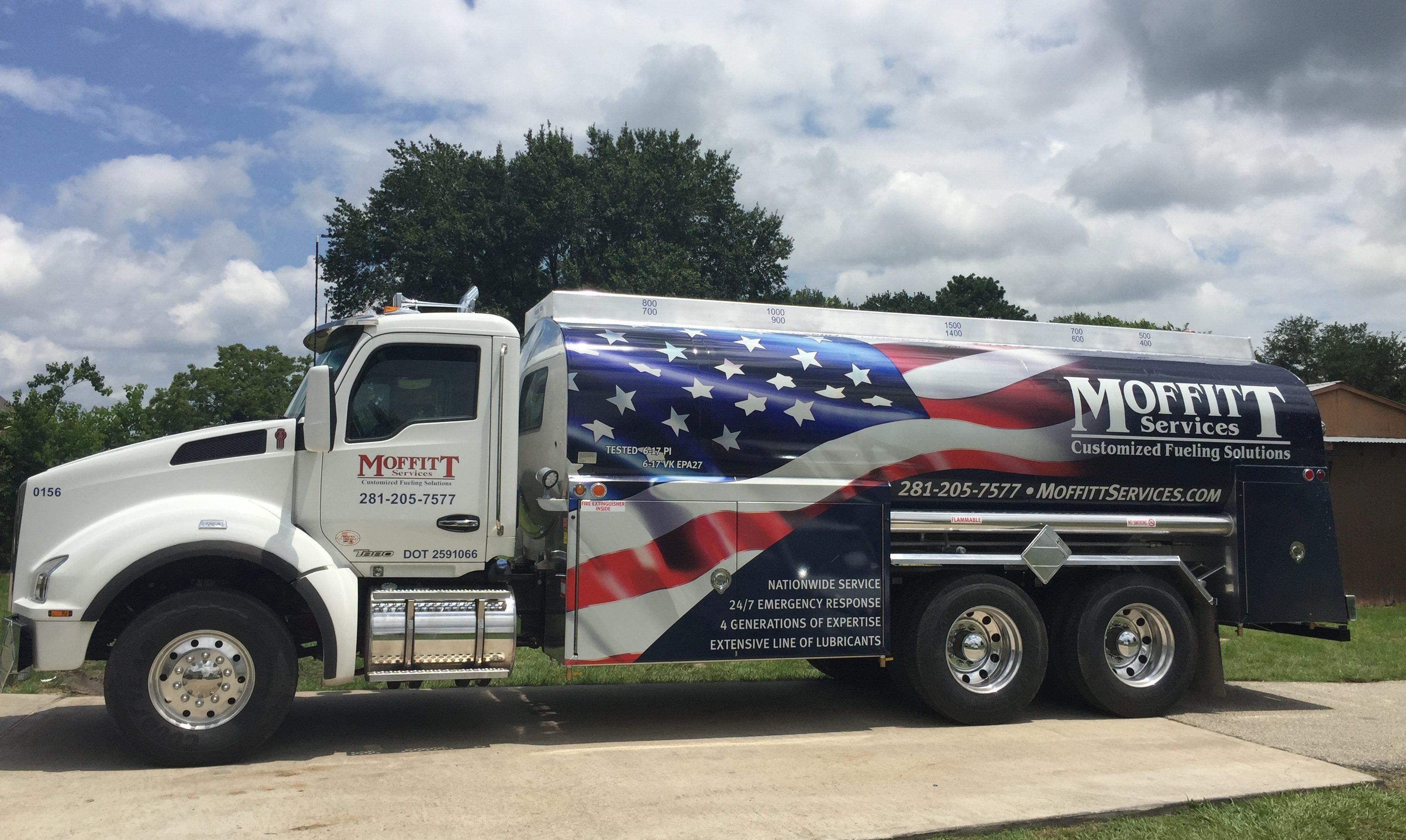 Houston fuel services moffitt truck