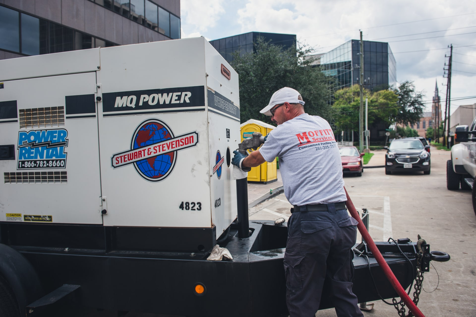 Austin, Texas Emergency Generator Fuel