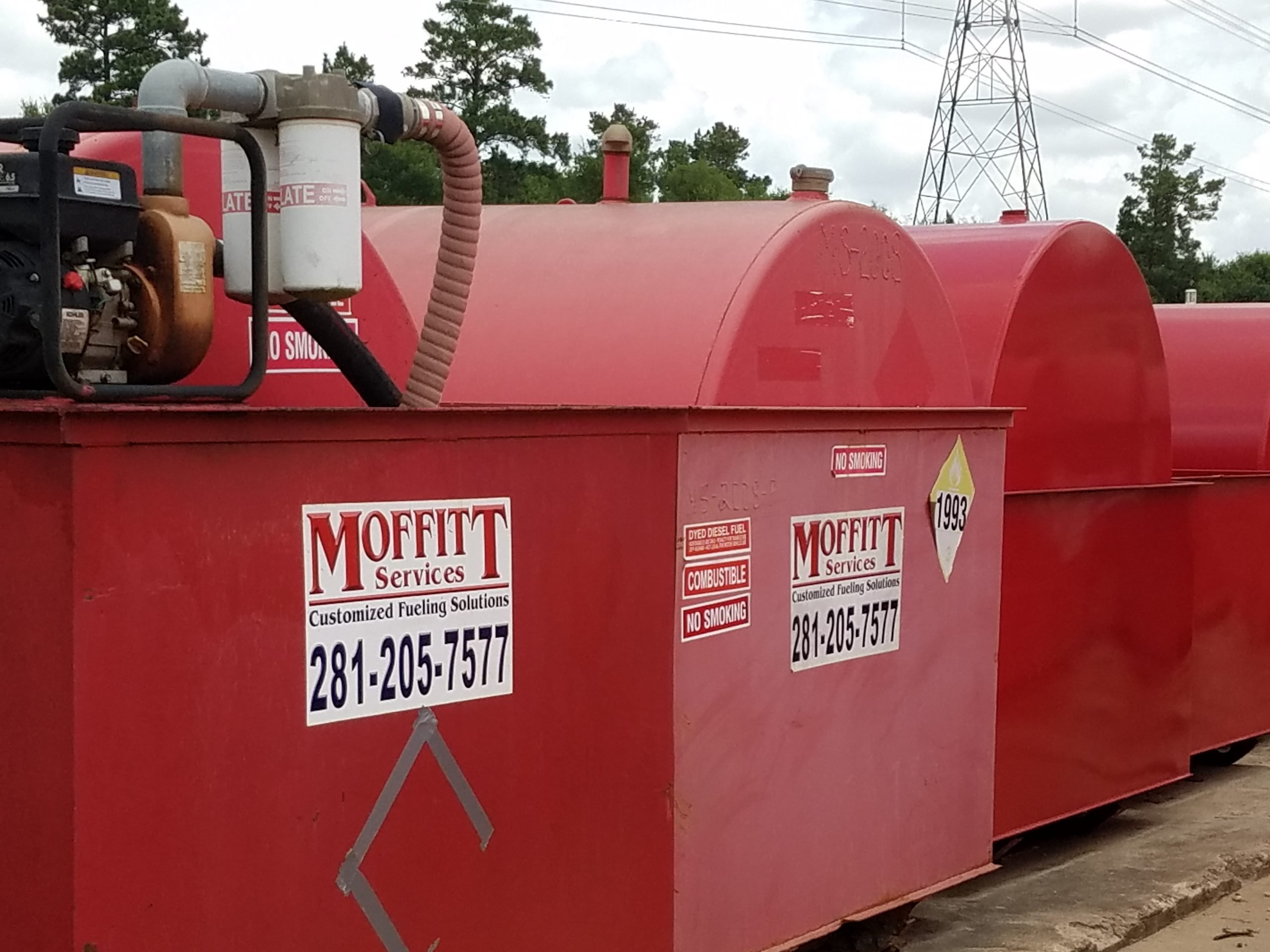 Livingston, Texas  Emergency Generator Fuel